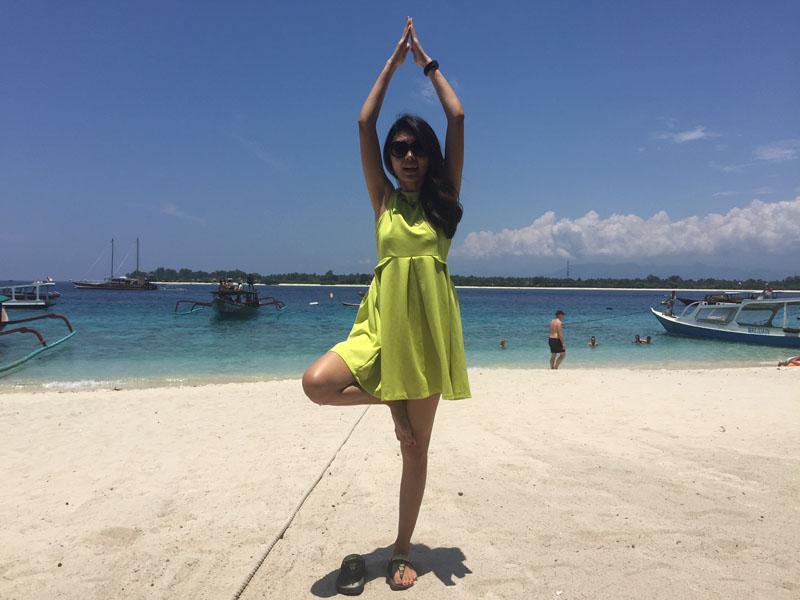 Gili Island yoga
