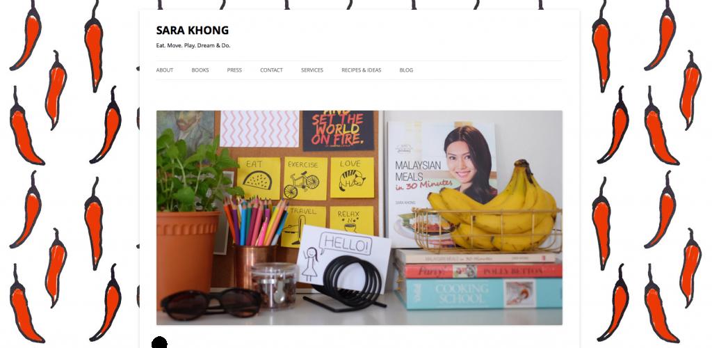Sara Khong Website